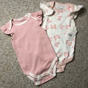 Kyle & Deena Grow With Me Bodysuits 3-6 months